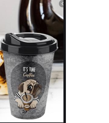 Пластмасова+чаша+за+кафе+с+капак+400ml