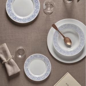serviz-za-hranene-bormioli-ricamo-blue-18-chasti-opal