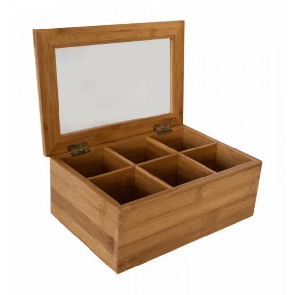кутия-за-чай-със-секции