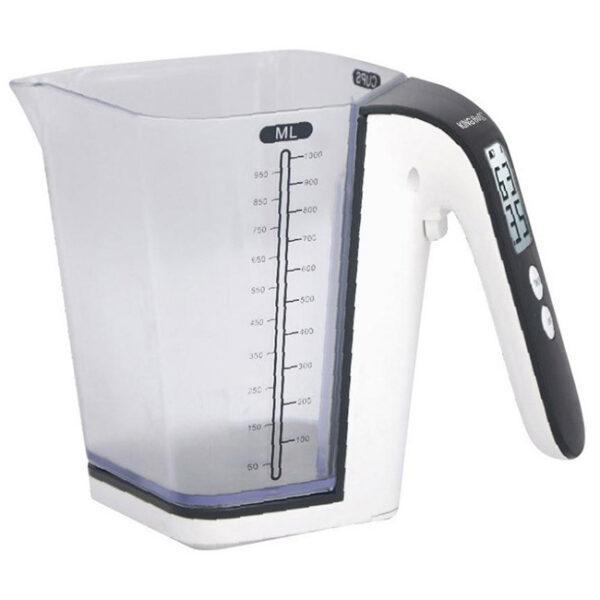 Кухенска-везна-и-мерителна-кана-2в1-Kinghoff-KH-6079-До-2-кг-1-литър